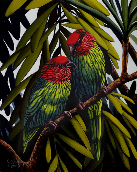 Goldie's Lorikeets